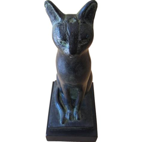 egyptian cat sculpture the met store 1965 austin productions egyptian cat sculpture from