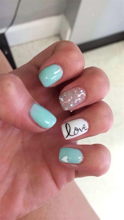 easy nail art gel 20 tiffany blue nail art desgins for summer nail art