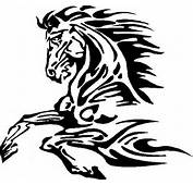 Animal Decals  Horse Tribal Decal / Sticker 14