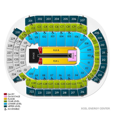 xcel center seating xcel energy center tickets xcel energy center