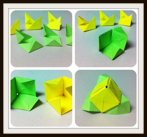 Origami Sticky Notes - sticky note origami 28 images magic cube 9 steps with