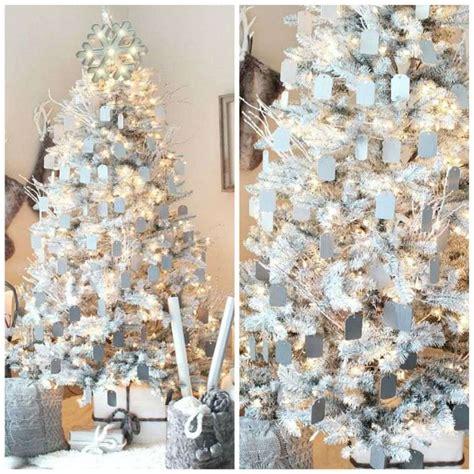 Incroyable Sapin De Noel Decoration Blanc #4: idee-decoration-noel-sapin-blanc-bleu.jpg