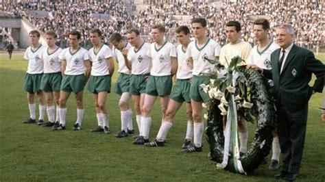 wann war werder bremen deutscher meister sportclub borgfeld e v historie 1960 bis 1969