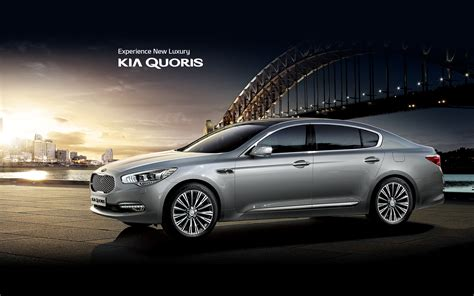 Quoris Kia Kia Quoris Premium Luxury Sedan Kia Motors Worldwide