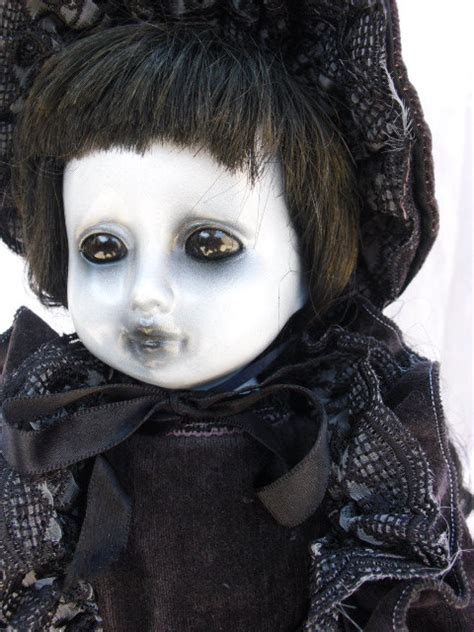 porcelain doll creepy nekomis 17 ooak scary creepy altered porcelain doll by