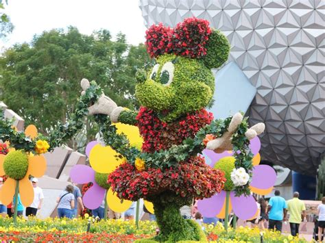 Epcot International Flower And Garden Festival Disney Flower Garden Festival