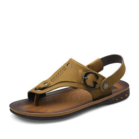 mens designer sandals mens designer hawaiian sandal calzado leather zuecos