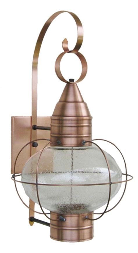 sandwich lantern onion lights photo of solid copper wall mounted onion l with seeded
