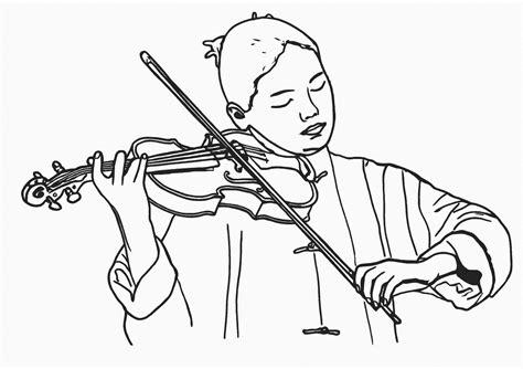 playing violin coloring page girl playing violin coloring pages coloring pages
