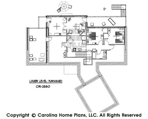 large contemporary ranch style house plan cr 2880 sq ft luxury 3d images for chp cr 2880 ga contemporary ranch 3d house