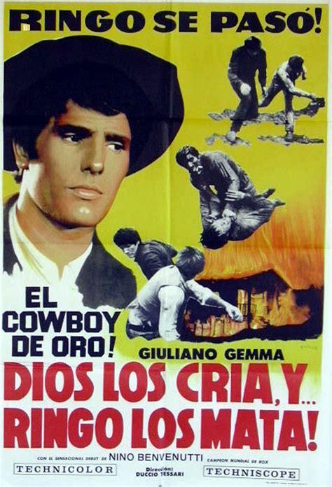film western un dolar gaurit quot dios los cria y ringo los mata quot movie poster quot vivi o