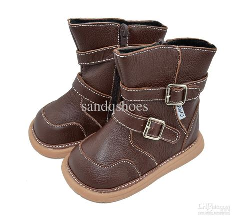 boots for toddler genuine leather boots baby boots sqc13 brown baby shoes