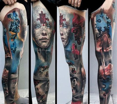 leg piece tattoo designs 90 modern tattoos for 21st century design ideas