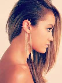 how to wear hair the ears piercing types and 80 ideas on how to wear ear piercings