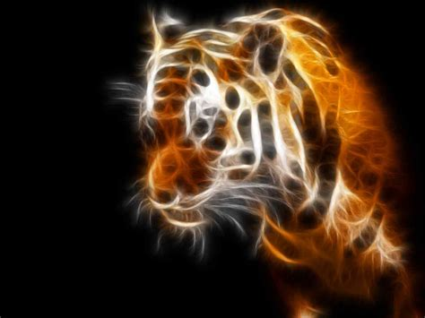 neon tiger backgrounds
