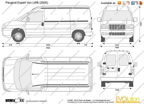 Peugeot Expert Van Dimensions