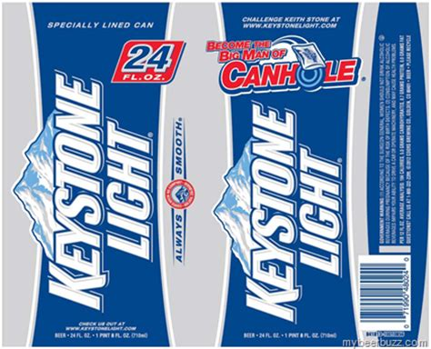 Calories In Keystone Light by Keystone Light Become The Big Of Canhole 104 Calories