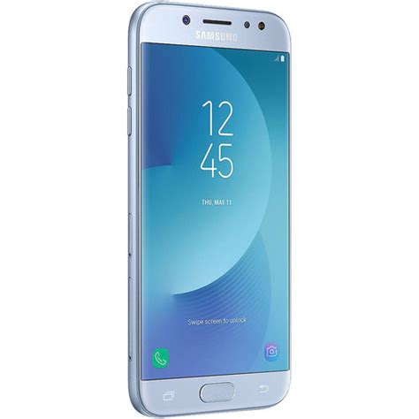 Samsung J7 Silver Samsung Galaxy J7 Pro Sm J730g 16gb Sm J730g Blue Silver B H
