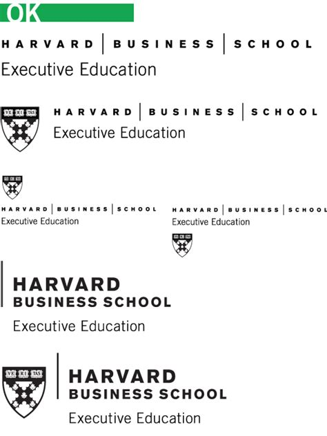Harvard Executive Mba Program by Executive Education Identity Guidelines Harvard