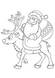 free christmas colouring pages party