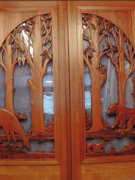 carved exterior doors custom carved wooden door designs
