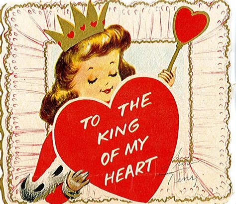 king of the hill valentines cards 17 best images about valentines lovely vintage on