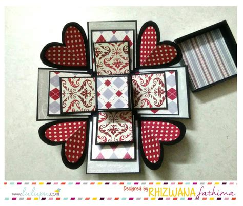 explosion box album tutorial lulupu the craft lounge explosion box mini album tutorial