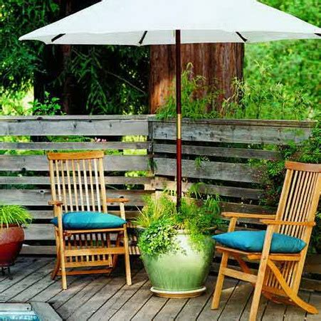 Diy Patio Umbrella 15 Fabulous Small Patio Ideas To Make Most Of Small Space Home And Gardening Ideas