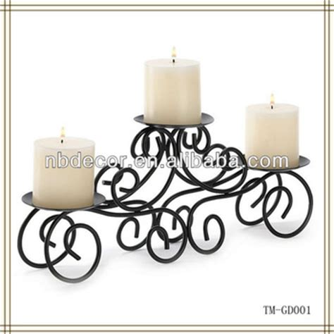 iron candle holders centerpieces candle holder wrought iron wedding centerpieces buy