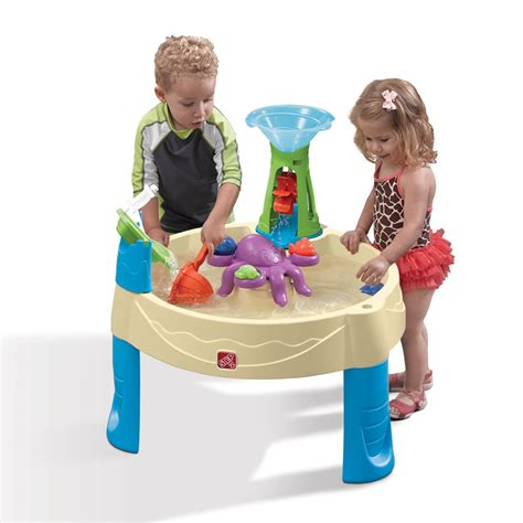 water table for 1 year whirlpool water table sand water play step2