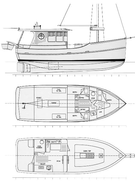 boat plans trawler trawler plans free download of pictures for facebook