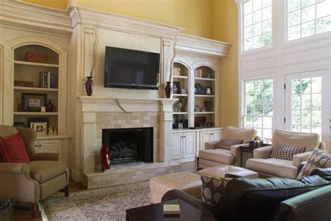 Fireplace Mantel Height With Tv Above by Where Does The Fireplace Fit In Your Overall Decor
