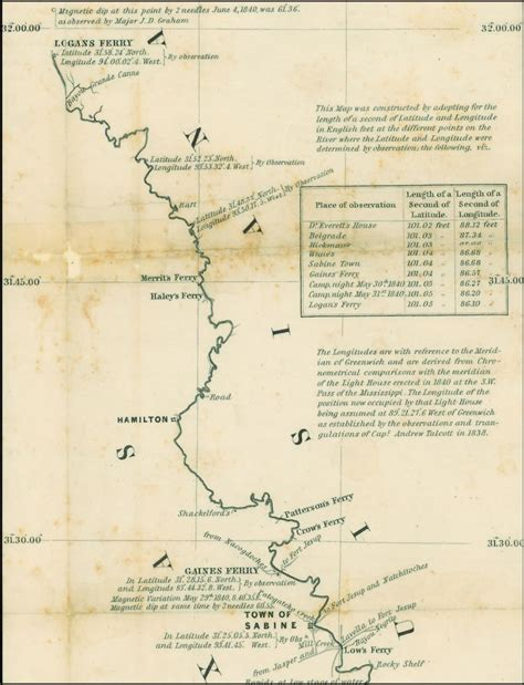 sabine river texas map time travel backwards style ferries on the sabine all things sabine