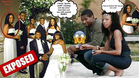 Ushers Canceled Wedding What Happened by R B Singer Usher Raymond Allegedly Gave Who Was