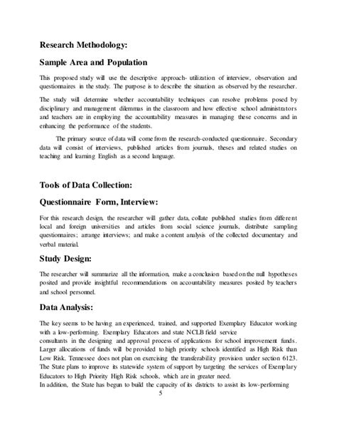 research design in proposal writing research proposal