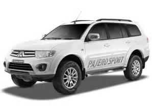 Bantal Mobil Mitsubisi Pajero Sport mitsubishi pajero sport price images reviews mileage specification