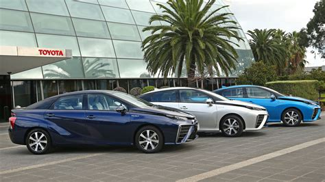 toyota australia toyota has three hydrogen fuel cell cars in australia