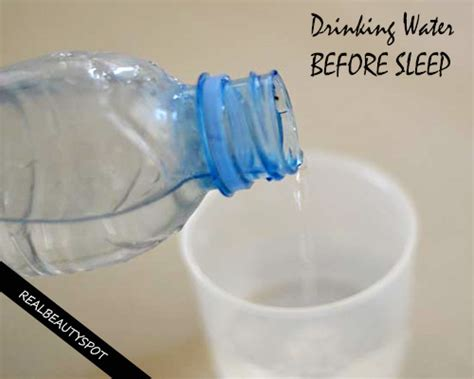 is it bad to drink water before bed benefits of drinking water before and after sleep