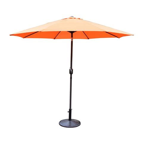 Patio Umbrellas With Base Hanover Traditions 46 96 Lb Aluminum Patio Umbrella Base In Rubbed Bronze Tradumbtbl The
