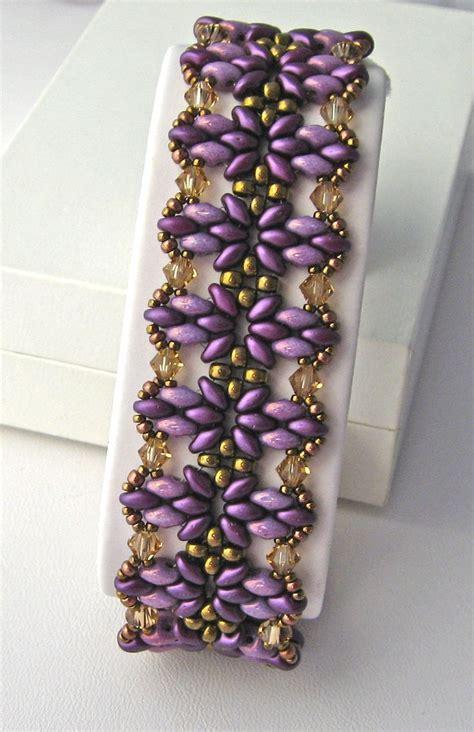 duo bead patterns 17 best ideas about beaded bracelet patterns on