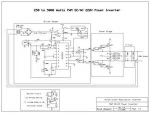 12v dc to 220v ac inverter schematic 12v free engine image for user manual
