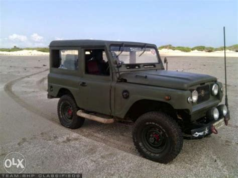Modified Jonga Jeep Nissan Jonga Team Bhp