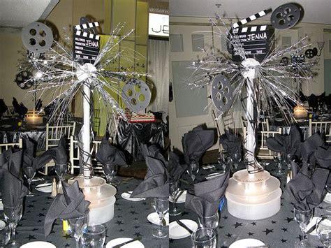 hollywood theme centerpiece party ideas pinterest