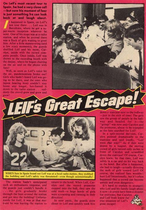 s great escape books leif s great escape