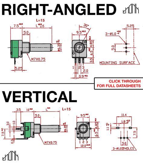 variable resistor b10k datasheet b1mpotentiometer wiring diagram b1m potentiometer datasheet wiring diagrams gsmx co