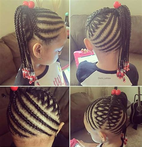little girl hairstyles braided to the side little girl braided hairstyle super cute fashion