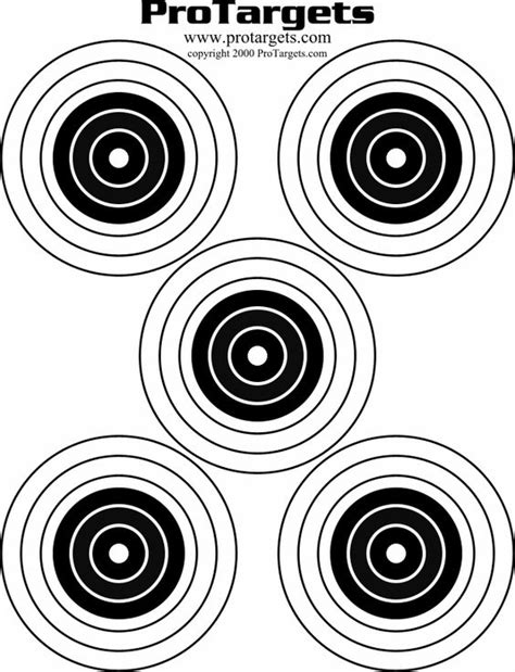 printable 8 inch targets best ideas about archery shooting bow shooting and