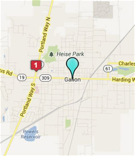 galion ohio map galion oh pictures posters news and on your