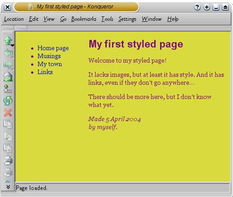 starting with html css