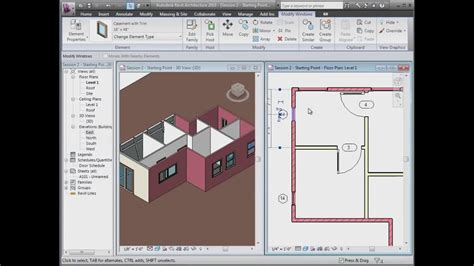 tutorial video revit revit house design tutorial 1 revit simple house